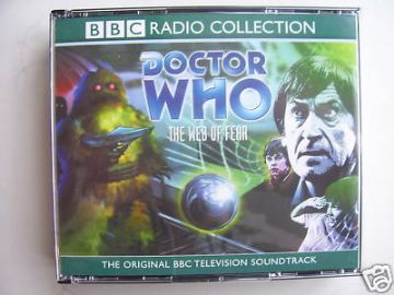 Doctor Who The Web of Fear CD Audio Set  RARE